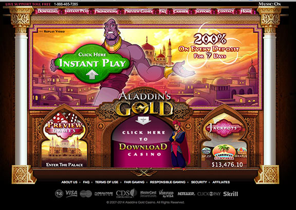 secure online casino extra gold