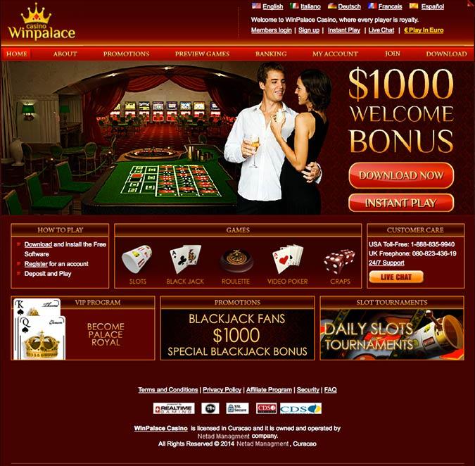 Winpalace Euro Casino