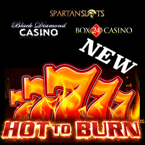 Hot to Burn Hold and Spin is live at Slots Capital Casino