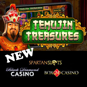 Temujin Treasures is live at Slots Capital Casino